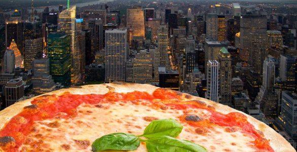 בצק פיצה ניו יורק