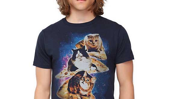 חתולי פיצה בחלל