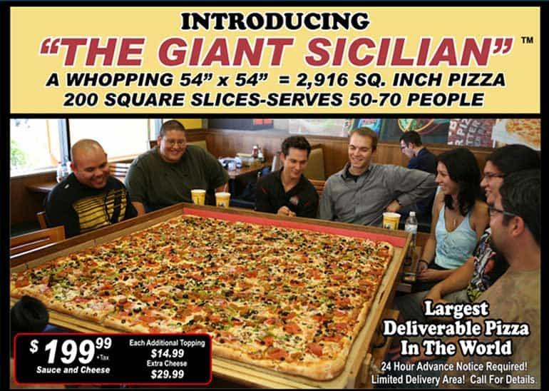 אתגר הפיצה