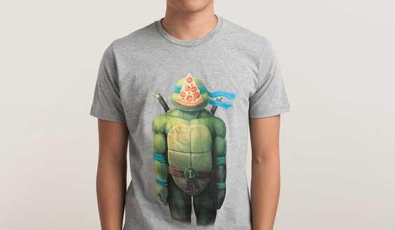צב נינג'ה חולצה פיצה