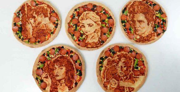 צייר הפיצה