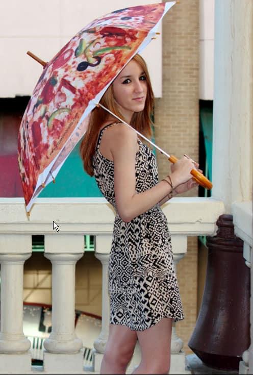 מטריה פיצות