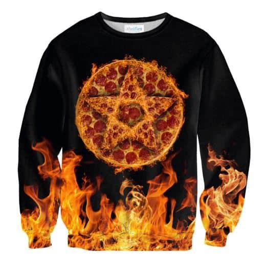 חולצה ארוכה פיצה