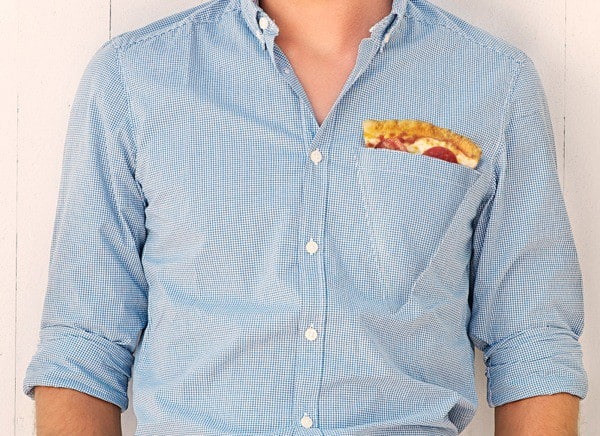 כיס חולצה פיצה