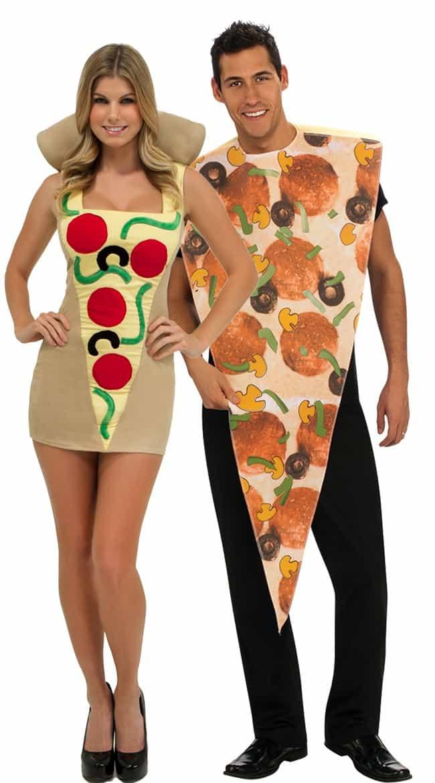 תחפושת זוגית פיצה