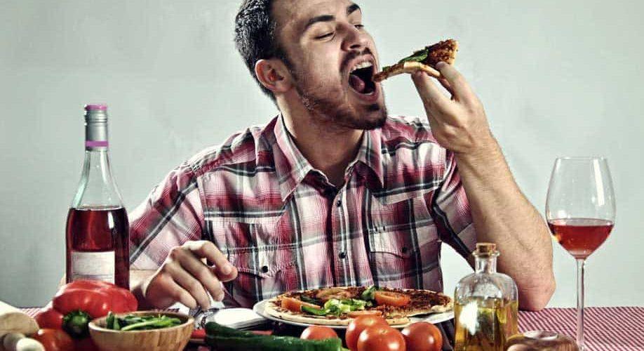 פיצה ממכרת