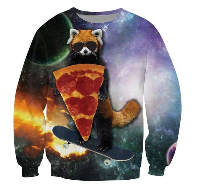 2015-11-30 22_16_39-Amazon.com_ Sweaters 3D Print Red Panda Pizza Bandit Skateboard Galaxy Hoodies S