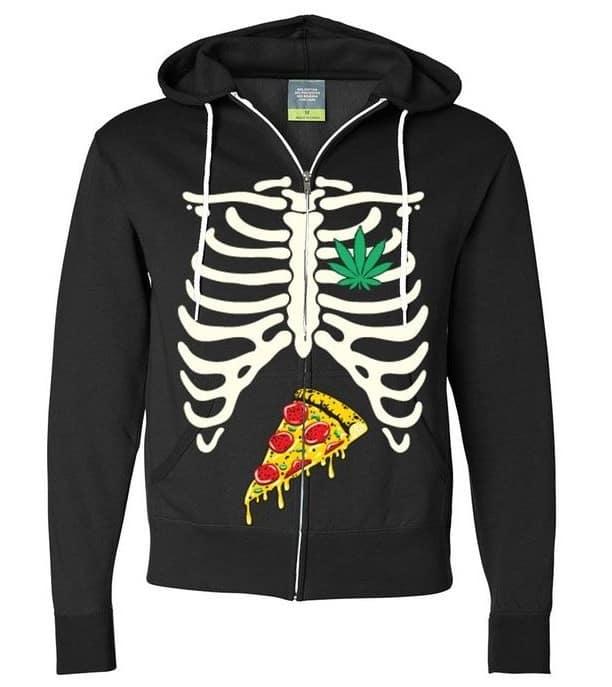 חולצת פיצה רנטגן