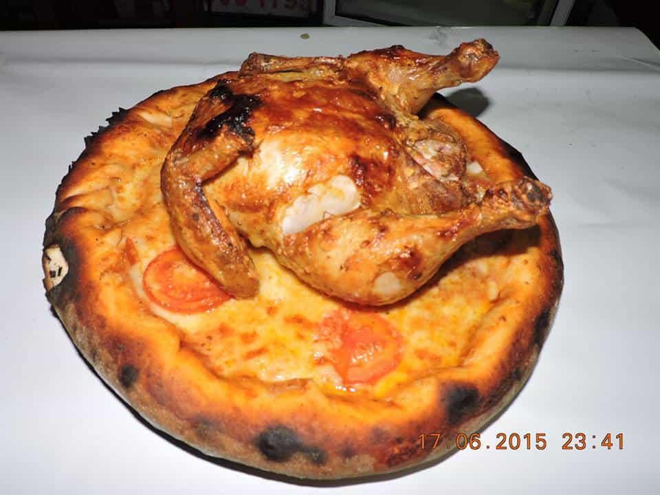 פיצה עוף
