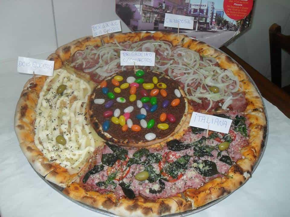 פיצה שוקולד