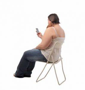 אשה שמנה
