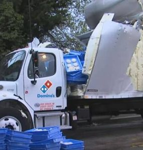 תאונת משאית בצק