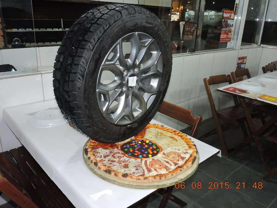 פיצה גלגל
