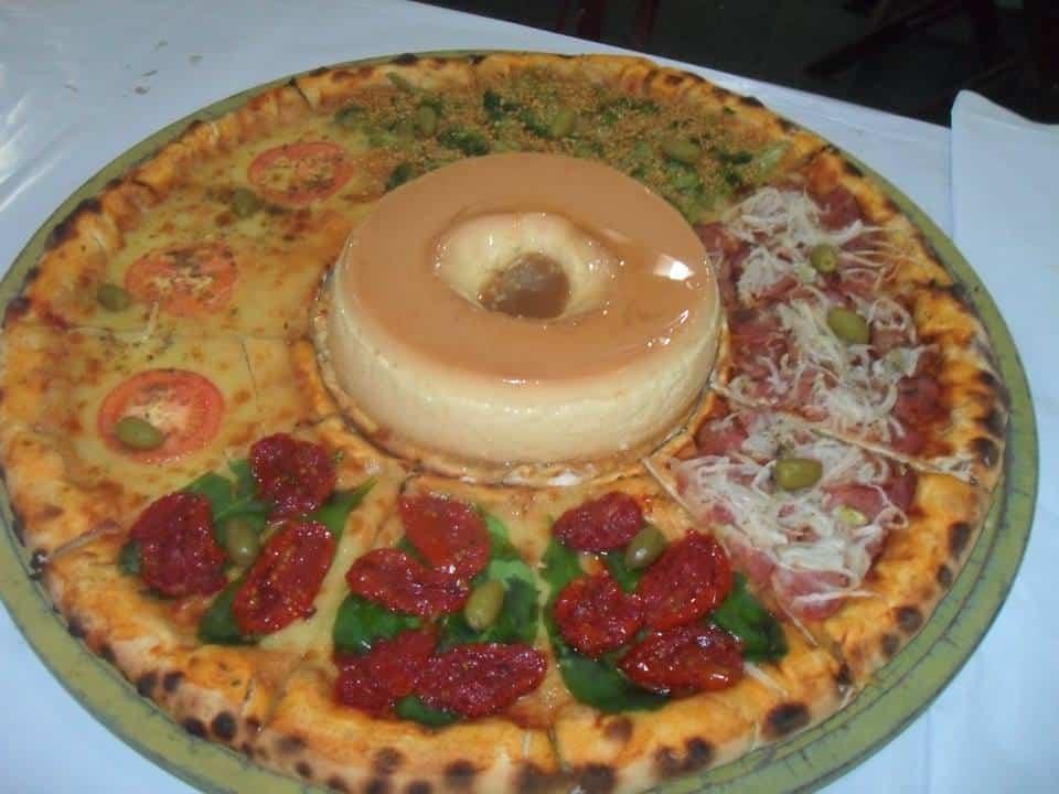 פיצה עוגת גבינה