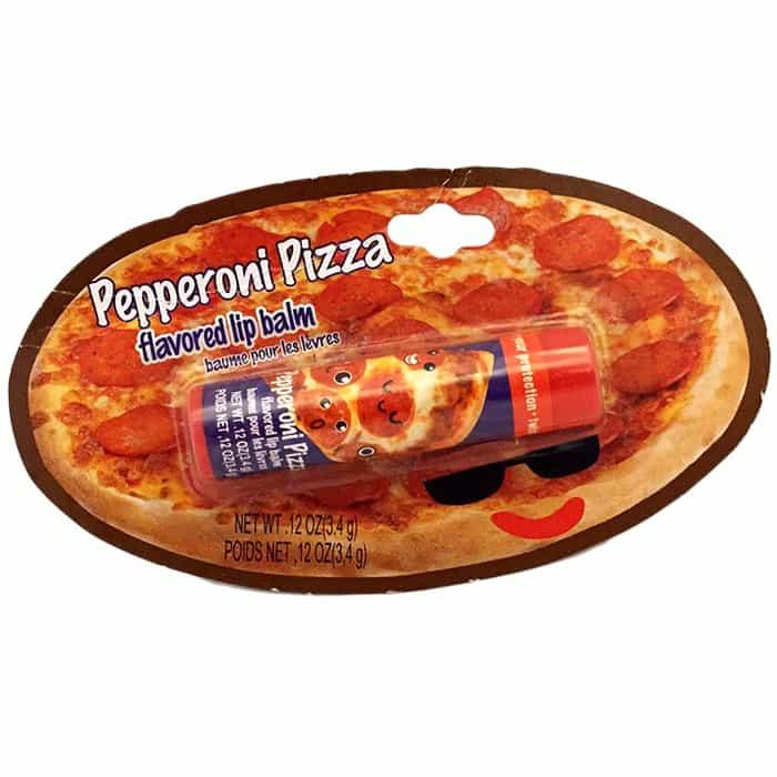 שפתון נגד יובש בטעם פיצה