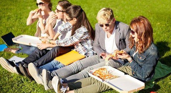 תואר אקדמי בפיצה