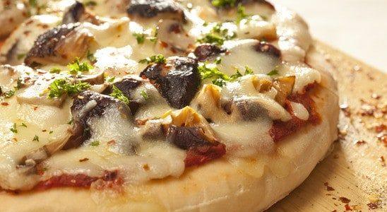 פיצה פטריות