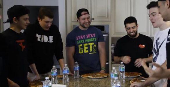 תחרות אכילת פיצה