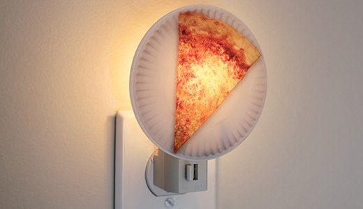 מנורת לילה פיצה