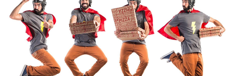 תחפושת שליח פיצה