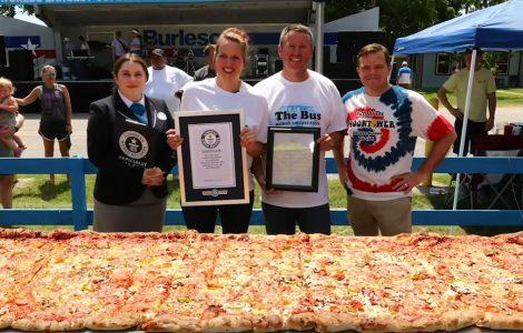 הפיצה הכי גדולה